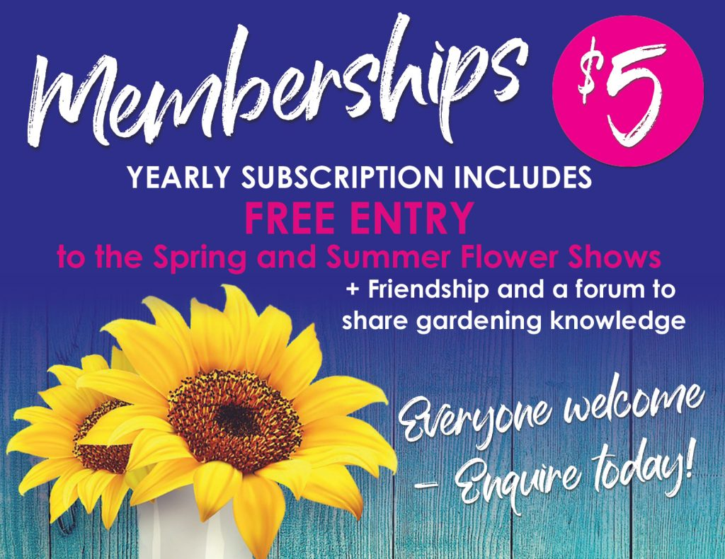 Memberships are just $5 per year